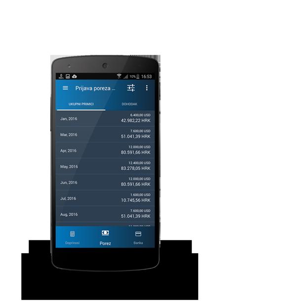Prijava poreza putem eMariner aplikacije