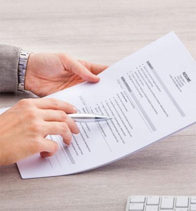 CV template for seafarers
